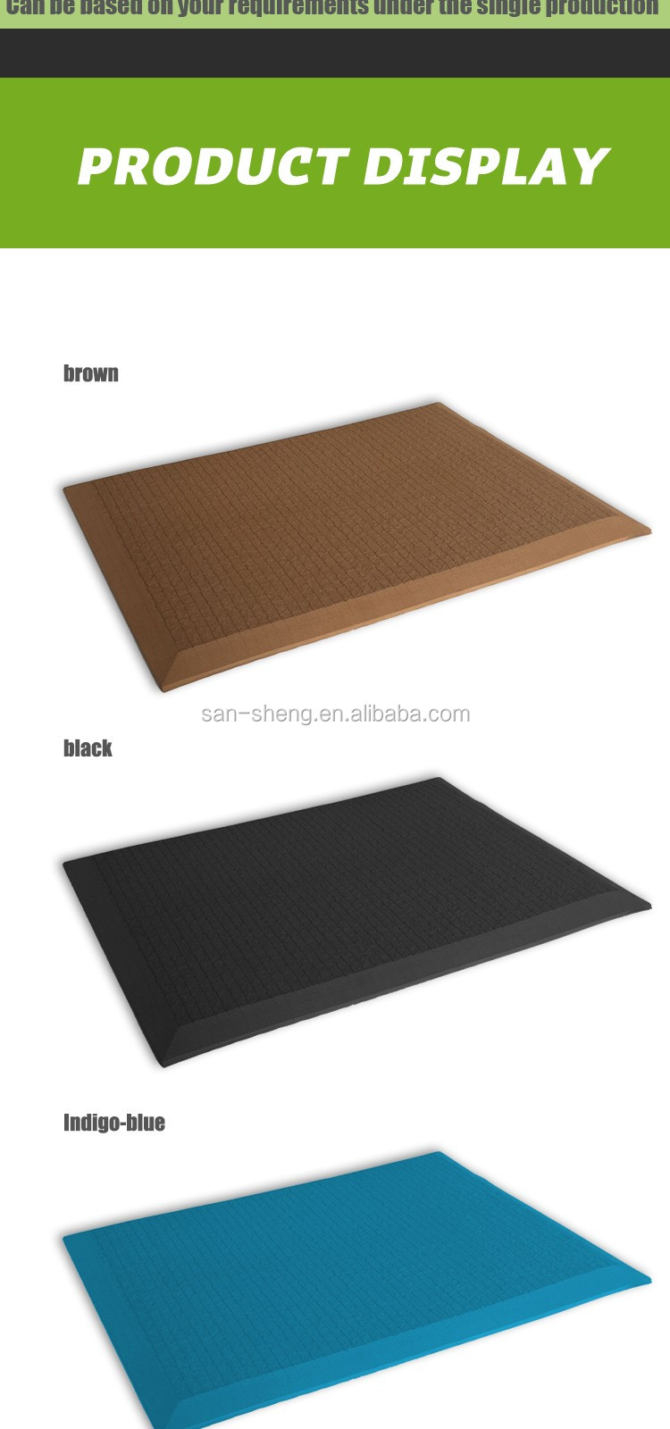 Customized size anti fatigue mat