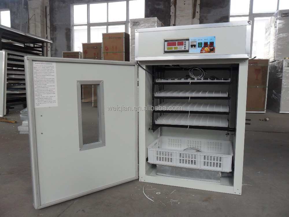 CE approvrf automatic chicken egg incubator /hatching machine WQ-352