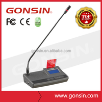 GONSIN 6000 Support Voting Interpretation Grading Conference Discussion Microphone System