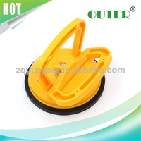 Plastic Single claw Car Vacuum Glass Suction Lifter aluminium glass suction cup, glass sucker