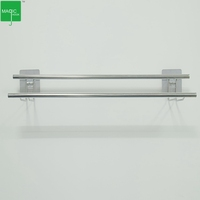 304 Stainless Steel Bathroom Self Adhesive Removable Hotel Towel Rack