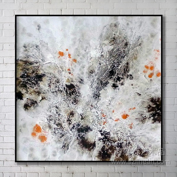 Abstract Simple Orginal Design Canvas Oil Painting Space