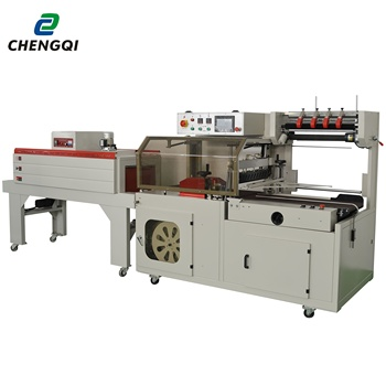 Ground carpet rug shrink wrapping tunnel machine