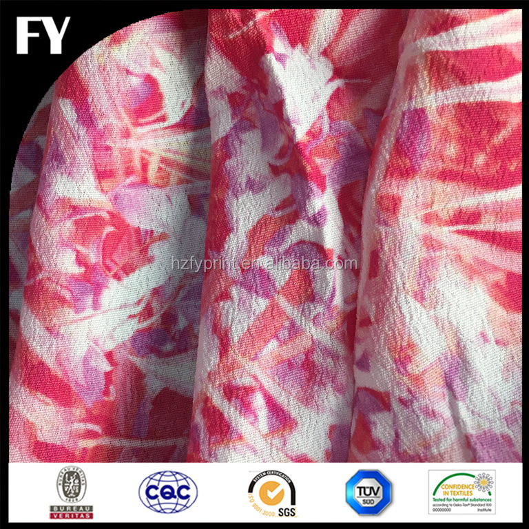 Factory custom high quality digital printing pre quilted cotton fabric