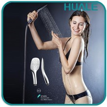 New style good quality ABS Plastic rainfall hand held shower