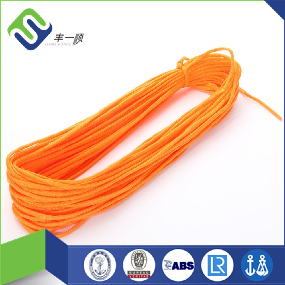 Factory supply colorful 550 nylon paracord for outdoor camping