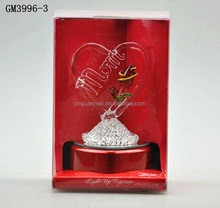 Led crystal souvenir/gift