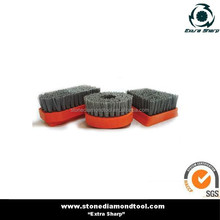 Diamond abrasive brush round for granite marble stones grinding and polishing