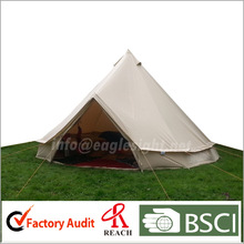 outdoor cotton canvas bell tent