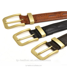 FAAO Wholesale Top Cowhide Pin Buckle Genuine Leather Belts For Men