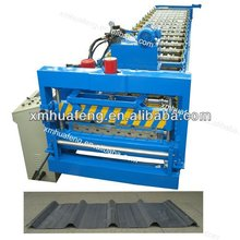 Steel Plate Roof Panel Station Roll Forming Machine