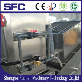 CE mark Sludge concentration & separation flitering dewatering machine by screw press (DL202)