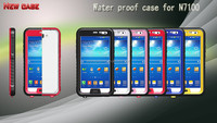 Factory price waterproof phone case/hot and new for samsung galaxy note 2 n7100 waterproof phone case