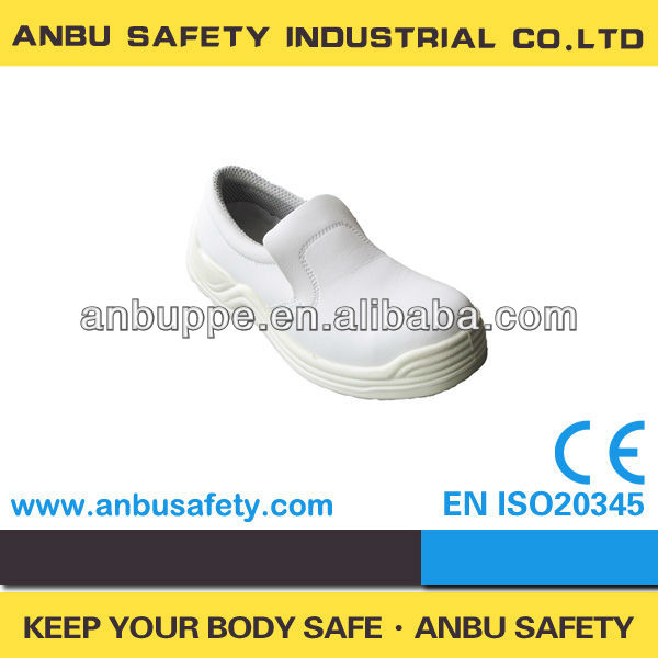 food factory company hot selling white indoor cleanroom sanitary shoes