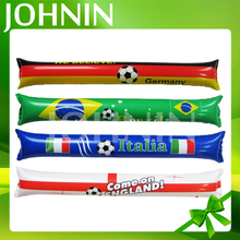 hot selling promotion custom Gift Fans Inflatable Cheering Plastic Flag Sticks