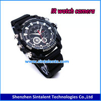 Fashion watch mini dv dvr HD 720P Waterproof leather Watch DVR camera digital Camera