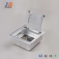 JS-Z400 Aluminium hidden Power Supply electric tabletop flip socket