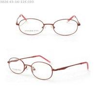 Shiny Candy Colorful Metal Optical Frames