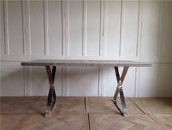 industrial dining table with wood top designs