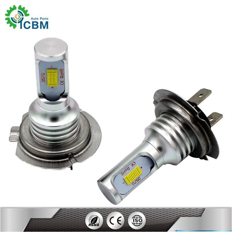Serviceable head light bulb auto <strong>crees</strong> H7 12V72W 700~1000LM led bulbs