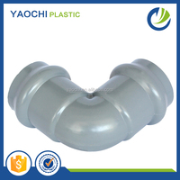 All size available water pipe fitting 90 deg elbow with rubber