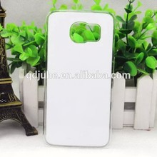 3D sublimation phone case for Samsung GALAXY S6edge, DIY the picture you like on the phone cover