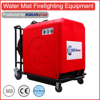 70L high capacity rescue equipment water mist fire extinguisher/ best quality fire fighting mini truck