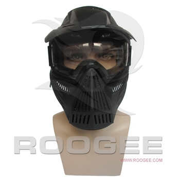 Military wargame tactical gear balck full face Mask