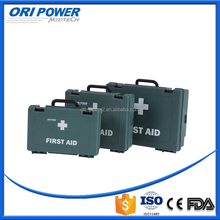 OP FDA CE ISO approved profession handy car outdoor first aid kit plastic case