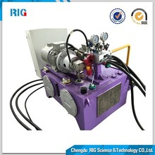 RIG-P011 Engine Cooling Pump Hydraulic Power Unit for tensile testing machine