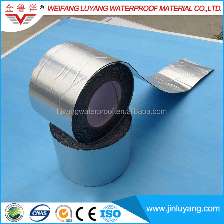 Flat Roofing Sealing Roll Strip Self Adhesive Bitumen Flashing Tape