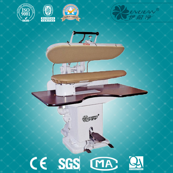 industrial ironing table , electric steam ironing board press