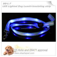 Have a insulating strip waterproof LED Lighted Dog Leash