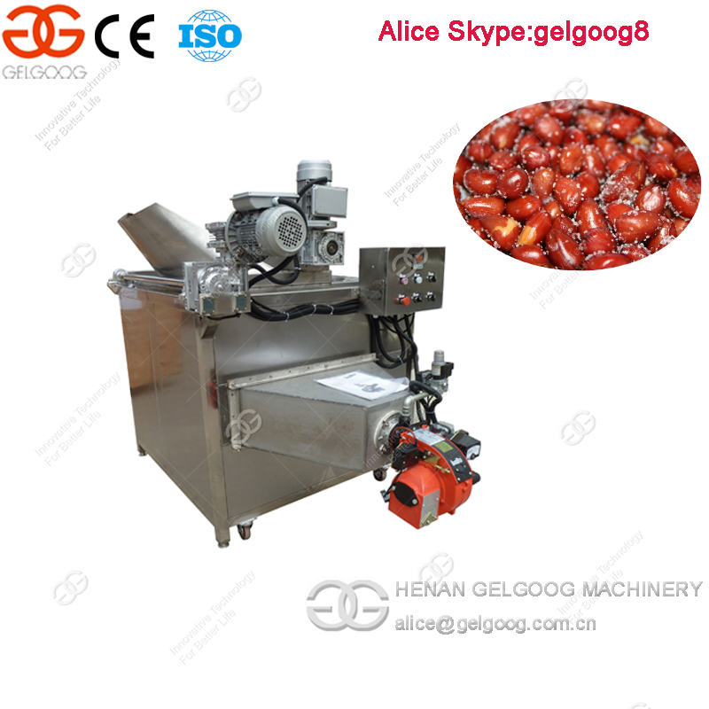 Automatic Stirring and Discharging Peanut Deep Fryer Machine
