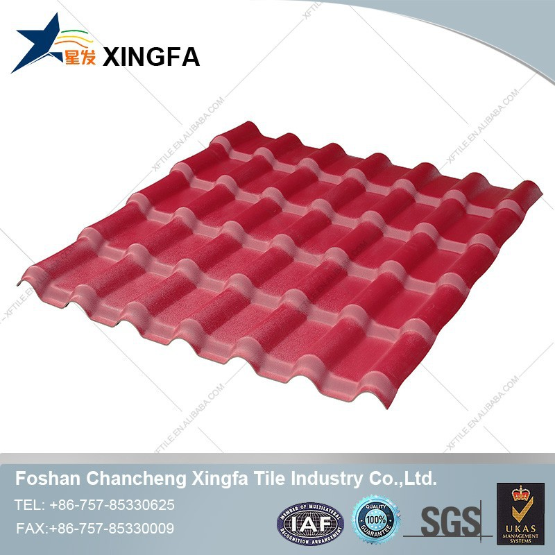 Types of roof covering plastic materials synthetic resin for Types of roof covering materials