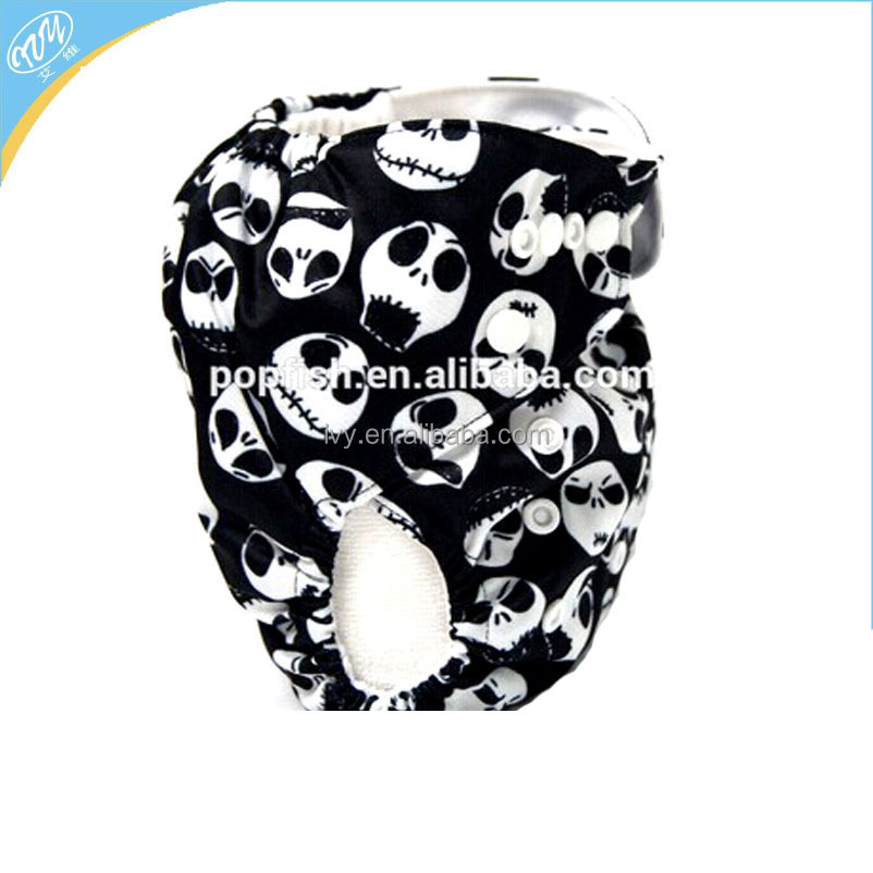 Baby cloth diaper reusable pul material one size fit all