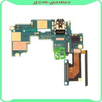 Earphone Headphone Audio Jack Power Volume Connector Main Board Flex For HTC One M7 802e