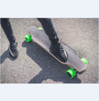 wholesale cheapest Custom belt motor longboard deck electric skateboard