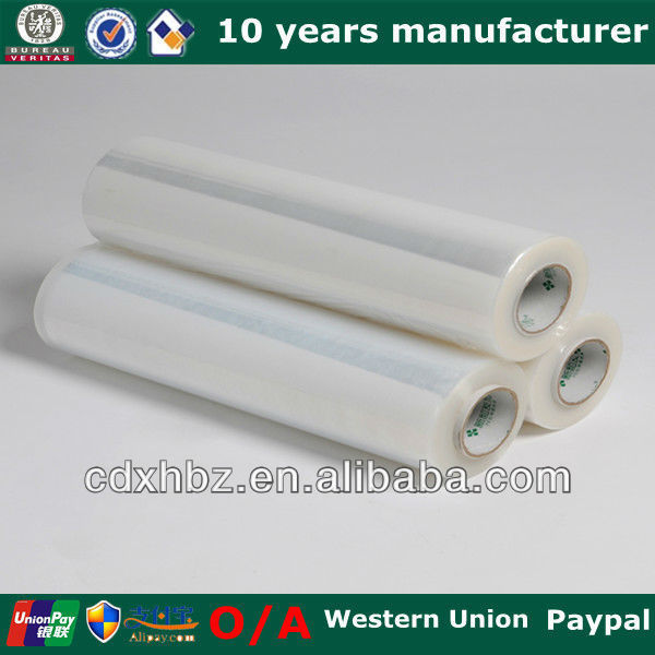 Plastic Pallet Hand Black Wrap Film