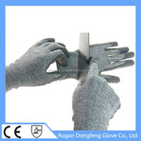 HPPE self protection level 5 working gloves for fishing