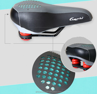 Hot sale new design MTB bicycle strength gel leather bike seat pad saddle