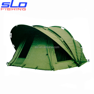 fishing camping tent with aluminum rib carp fishing bivvy