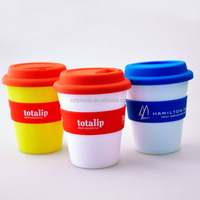 300ML Bpa Free cheap plastic cups and Double Wall Insulated Plastic Tumbler Cup With Straw And Lid