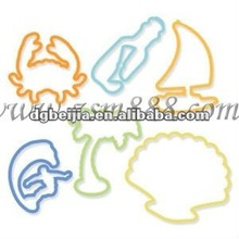 Gift for Children Silicone hair Elastic Cordband BJ-B001