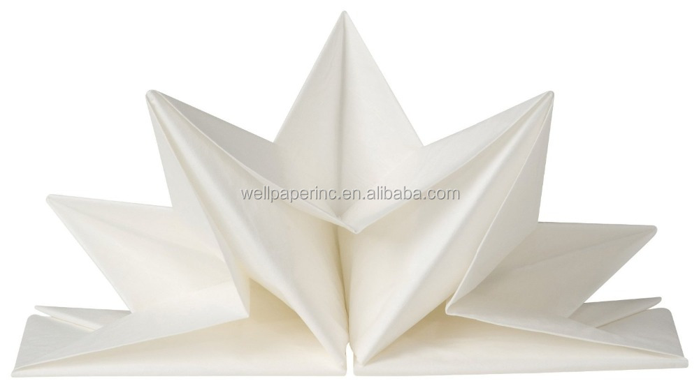 Origami 12 Count 23 x 15.5-Inches Pre-Folded Paper Party Napkins