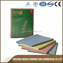 chemical bonded nonwoven fabric cnc co2 laser cutting machine