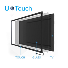 55inch infrared touch screen frame with 10 touch points for photobooth