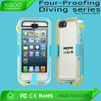crystal retail packing for waterproof case iphone 5