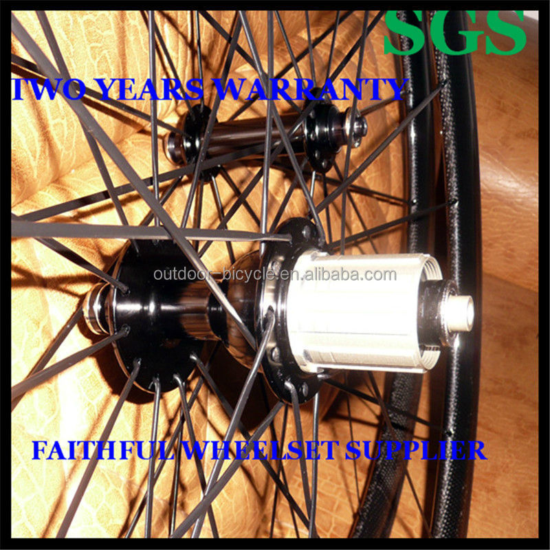 2015 High Temperature Resistance 38mm 700C Carbon Road Bicycle Wheels with Basalt Brake Surface, Road Bicycle Wheels