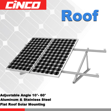 Adjustable PV solar moudle Mounting structure